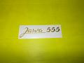 Samolepka Jawa 555