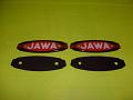 Znaky nádrže Jawa