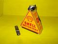 Olejová nádobka Shell s držákem