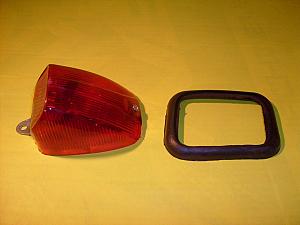 světlo zadní Jawa panelka,ČZ - červené kompletní
