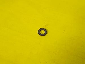 Podložka plochá M6 černý zinek