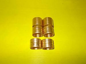 Pouzdra přední vidlice Jawa bronzové